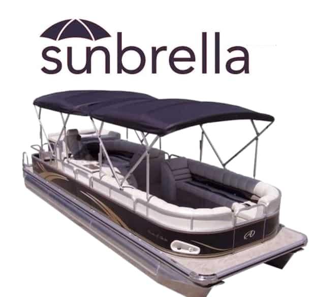 Sun umbrella bimini top