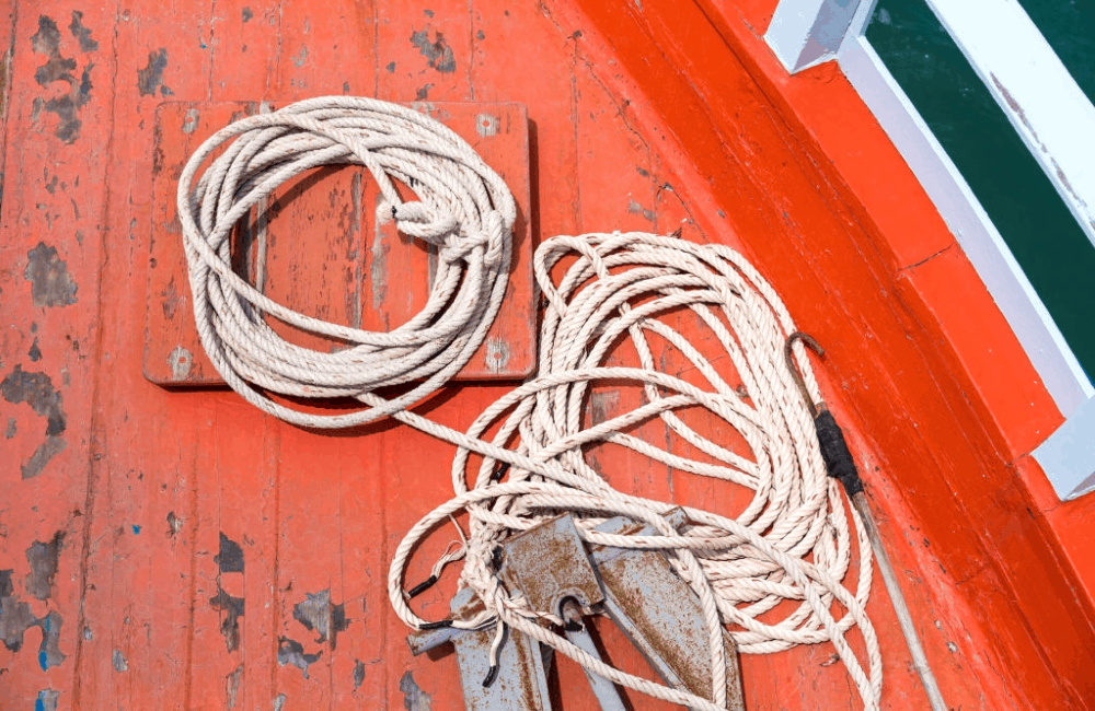 best pontoon boat anchor ropes